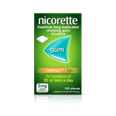 NICORETTE FRESH FRUIT 2MG 105'S