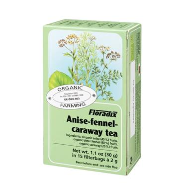 SALUS HAUS HERBAL TEA  ANISE-FENNEL-CARAWAY TEA