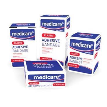 MEDICARE ELASTIC ADHESTIVE SUPPORT BANDAGE 10CM X 4.5M