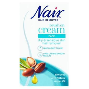 NAIR BRUSH ON CREAM FACIAL HAIR REMOVER