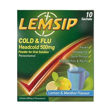 LEMSIP COLD & FLU HEADCOLD 10'S