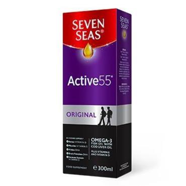 SEVEN SEAS ACTVE 55 ORIGINAL LIQUID 300ML