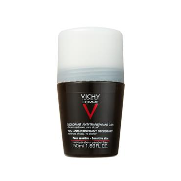 VICHY HOMME 72HR ROLL ON EXTREME ANTI-PERSPIRANT 50ML