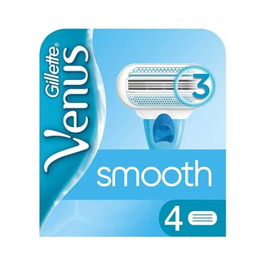 GILLETTE VENUS SMOOTH CARTRIDGES 4S