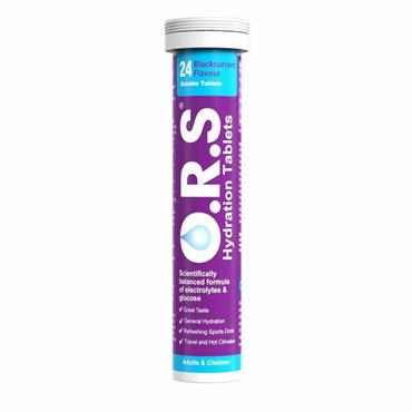 ORS REHYD TABS B/CURRANT 24S