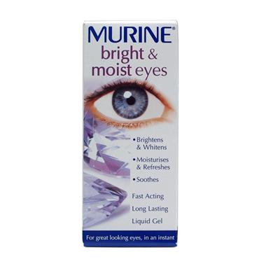 MURINE BRIGHT & MOIST EYES NEW