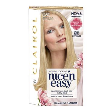 CLAIROL NICE&EASY 10B EXTRA LIGHT BEIGE BLONDE