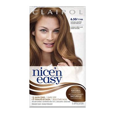 CLAIROL NICE&EASY 6.5G LIGHTEST GOLDEN BROWN