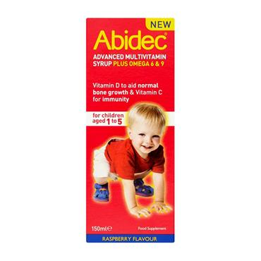 ABIDEC M/VIT RASPBERRY 150ML