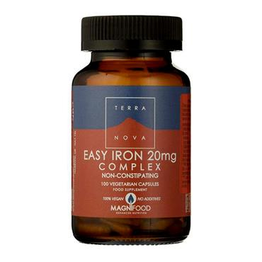 TERRA NOVA EASY IRON 20MG 100 CAPSULES