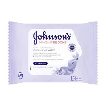 JOHNSONS ALL SKIN TYPE WIPES 25S