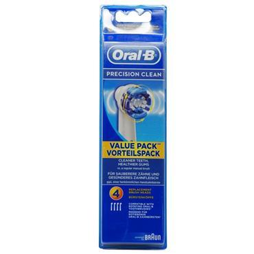 ORAL B PRECISION CLEAN HEADS 4 PACK