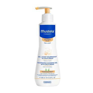 MUSTELA INFANT NOURISHING CLEANSING GEL WITH COLD CREAM 300ML