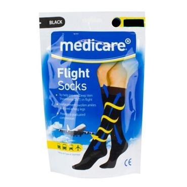 MEDICARE FLIGHT SOCKS MEDIUM