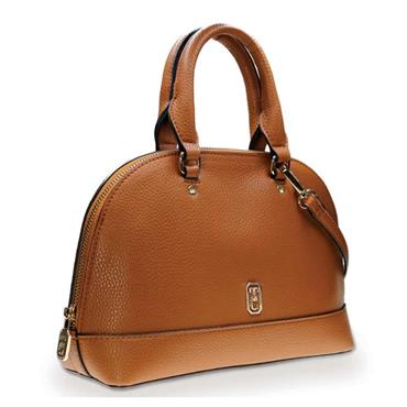 TIPPERARY CRYSTAL MAYFAIR SATCHEL BROWN