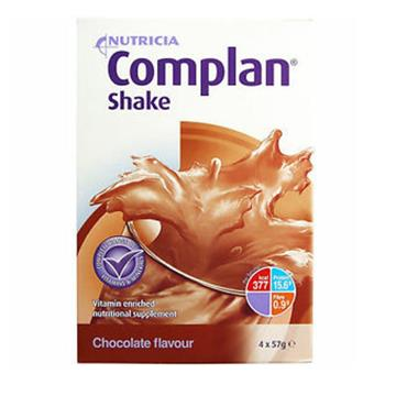 COMPLAN CHOCOLATE FLAVOUR SHAKE 228G