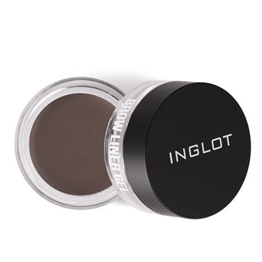 INGLOT X MAURA BROW LINER GEL MEDIUM BROWN