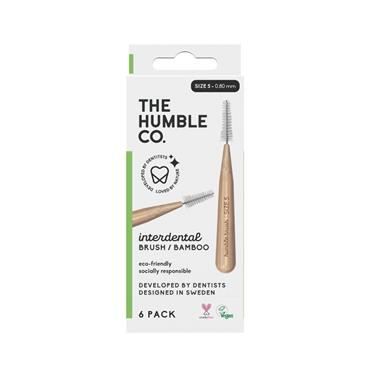 HUMBLE BAMBOO INTERDENTAL BRUSH 6 PACK - SIZE 5