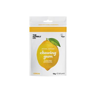 HUMBLE NATURAL CHEWING GUM LEMON