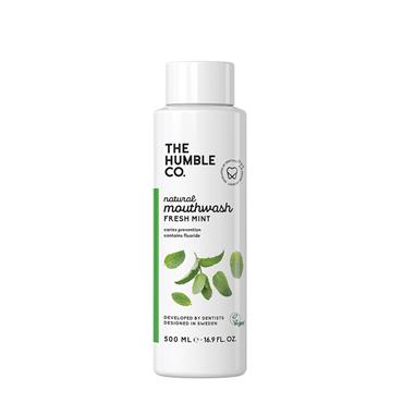 HUMBLE ADULT MOUTHWASH FRESH MINT 500ML