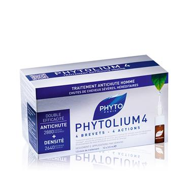 PHYTO PHYTOLIUM THINNING HAIR-MEN 4 TREATMENT 12x3.5ML