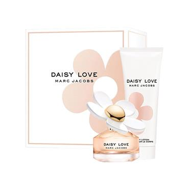 MARC JACOBS DAISY LOVE TRAVEL EXCLUSIVE SET 200ML EDT SPRAY  AND 75ML BODY LOTION