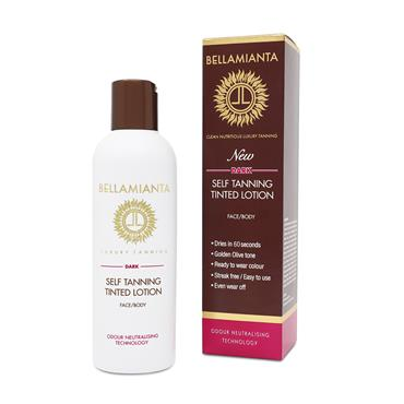 BELLAMIANTA LUXURY TANNING LIQUID DARK 200ML