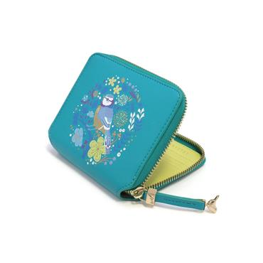 TIPPERARY CRYSTAL BIRDY WALLET BLUE TIT