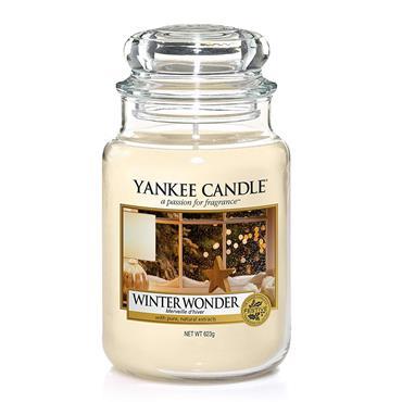 YANKEE WINTER WONDER LARGE JAR