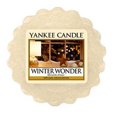 YANKEE WINTER WONDER WAX MELT TART