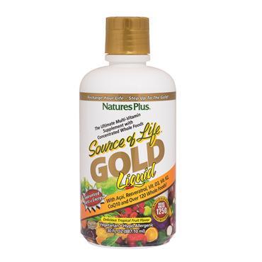 NATURES PLUS SOURCE OF LIFE LIQUID GOLD 900ML