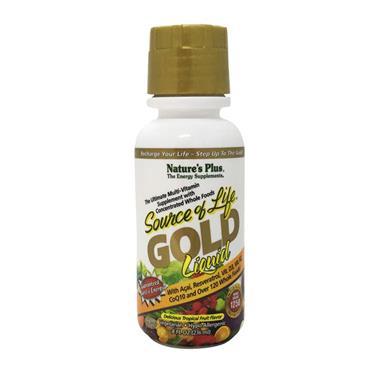NATURES PLUS SOURCE OF LIFE LIQUID GOLD 250ML