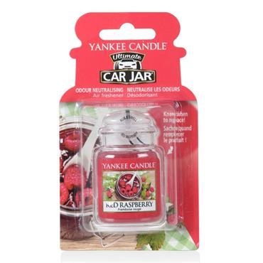 YANKEE ULTIMATE CAR JAR RED RASPBERRY