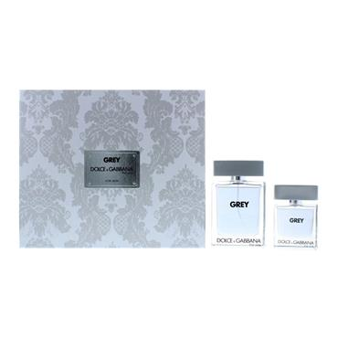 DOLCE & GABBANA THE ONE GREY MENS GIFTSET