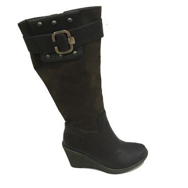 SOUTH WEDGE BOOT-BROWN