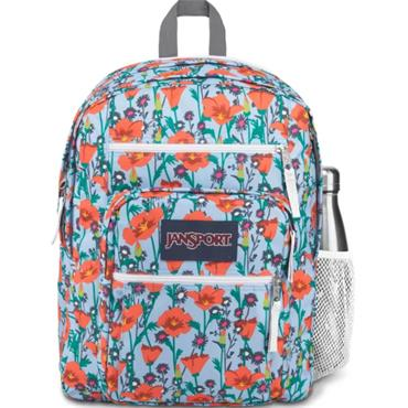 Jansport PoppyGarden Big Student Backpac-TURQUISE
