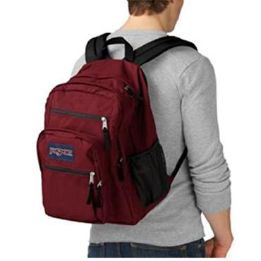 Jansport JSOA47 Big Student Backpack-RED