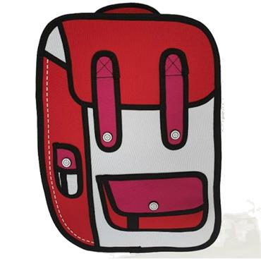 RIDGE 53 2D SMALL BACKPACK-RED
