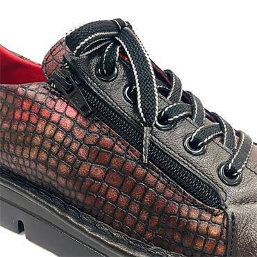 Jose Saenz 2001-C-M Lace Shoe-RED
