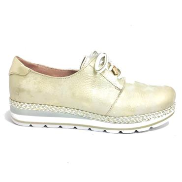 - Jose Saenz 2013-Md-M Casual Lace Shoe - CHAMPAGNE