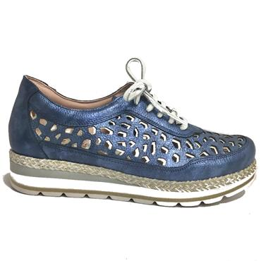 Jose Saenz 2026-MD Casual Lace Shoe-NAVY
