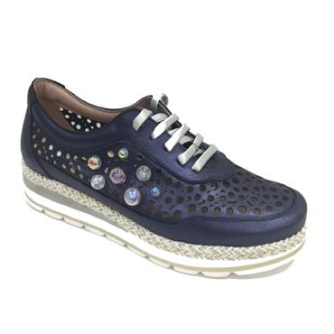 JOSE LACE SHOE 2040-M-NAVY