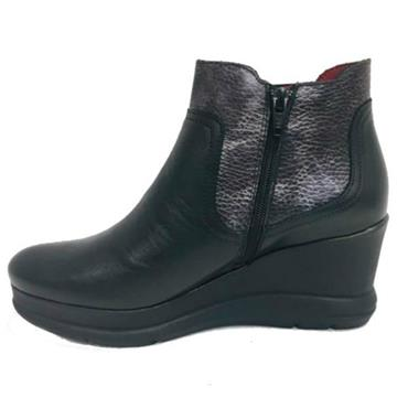 JOSE SAENZ 5152-L-DL WEDGE BOOT-BLACK