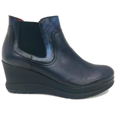 - JOSE SAENZ 5152-L-DL WEDGE BOOT - NAVY