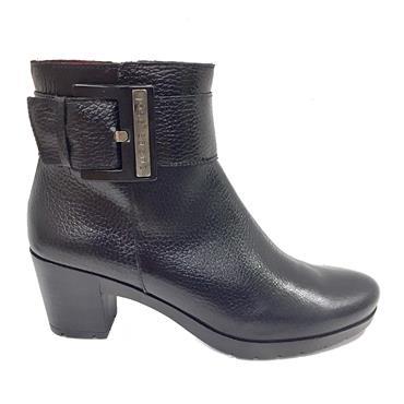 Jose Saenz 5182-C Heel Ankle Boot-BLACK