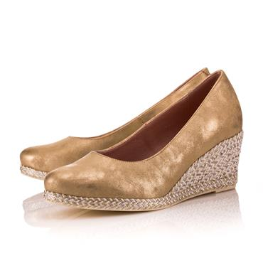 GLISTEN WEDGE-GOLD