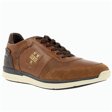 Bullboxer 630K Mens Casual Shoe-TAN