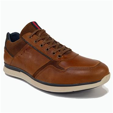 Bullboxer Acona Mens Casual Shoe-TAN