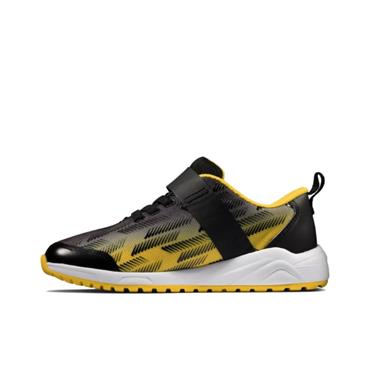 Clarks Aeon Pace K-BLACK YELLOW