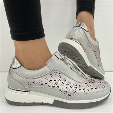 ALALAH ONE CASUAL SHOE ZANNI-Silver